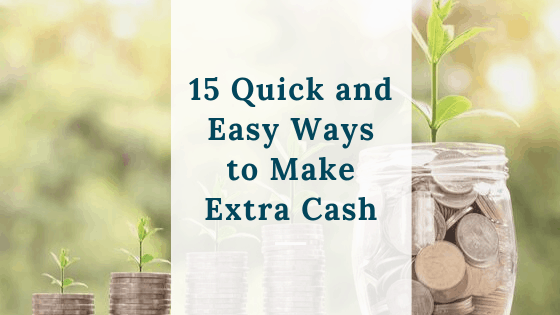 15 ways to make extra cash