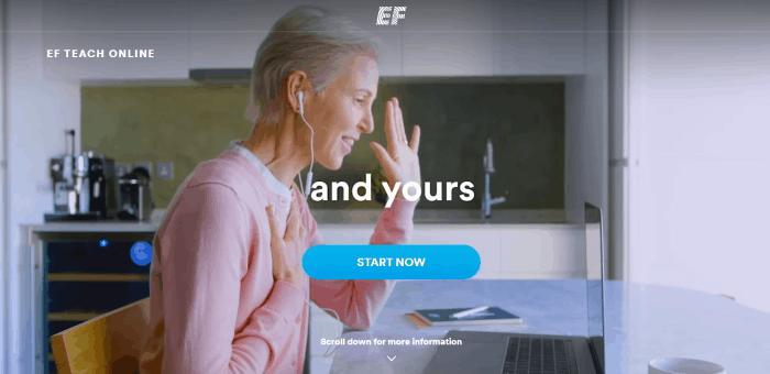 EF Teach Online Tutoring Job