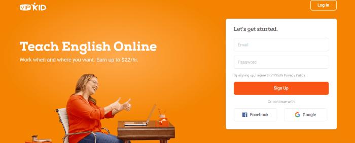 Vipkid Online Tutoring