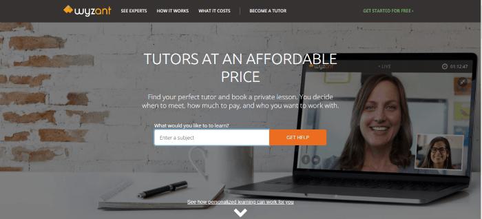 wyzant tutoring jobs