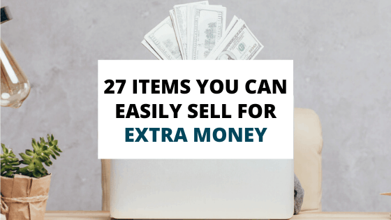 items you can sell for extra money