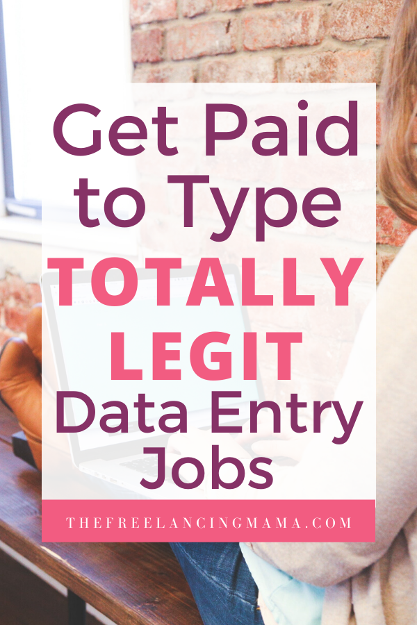 get paid to type