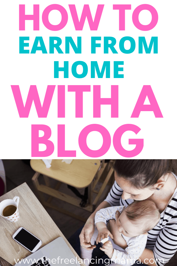 Learn how it's possible to make thousand per month blogging. Use a blog to make money from home and become a work at home mom.