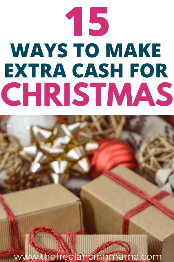 Learn how to make extra money this holiday season with these ways to make extra cash for Christmas.