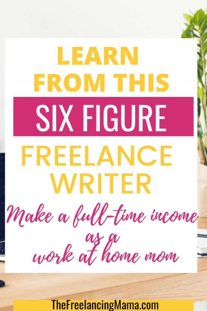 learn how to become a freelance writer. Become a work at home mom with freelance writing jobs from home