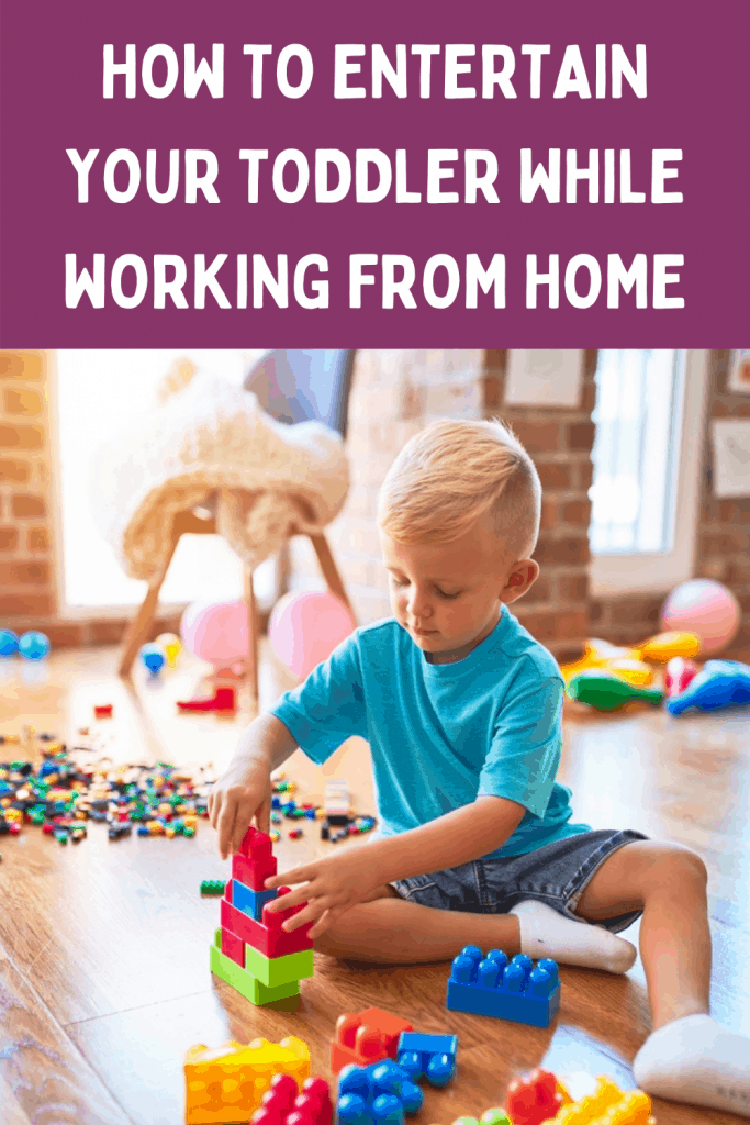 Find fun and educational ways to keep your toddler occupied while you work at home ideas. Work at home ideas for moms with kids