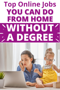 want to start working from home? You don't need a degree to earn online. Find the best online jobs without a degree here.