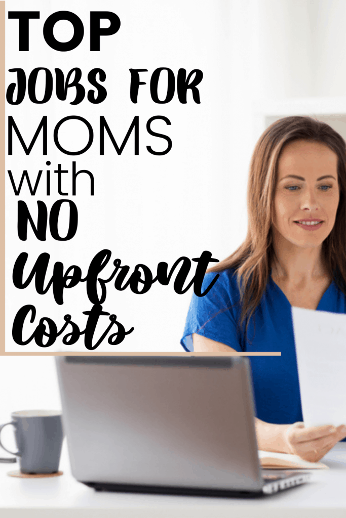 online jobs for moms with no upfront costs