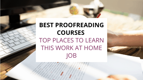 best proofreading courses